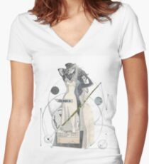 Magic Women's Fitted V-Neck T-Shirt