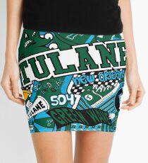 Tulane Collage  Mini Skirt