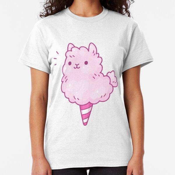 Cotton candy llama Classic T-Shirt