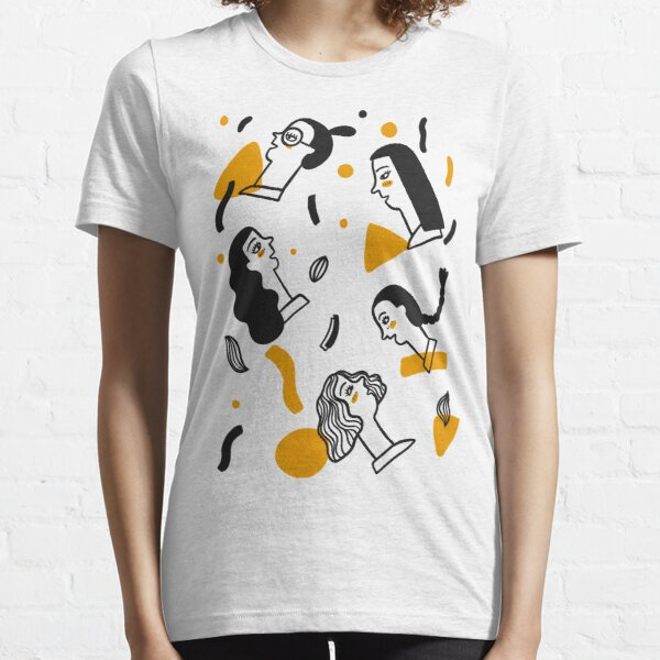 Pattern of side face Essential T-Shirt
