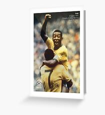 Pele Greeting Card