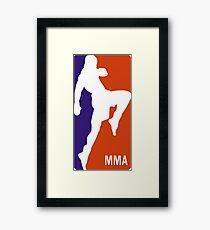 MMA Framed Print