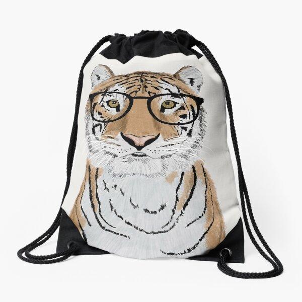 Clever Tiger Drawstring Bag