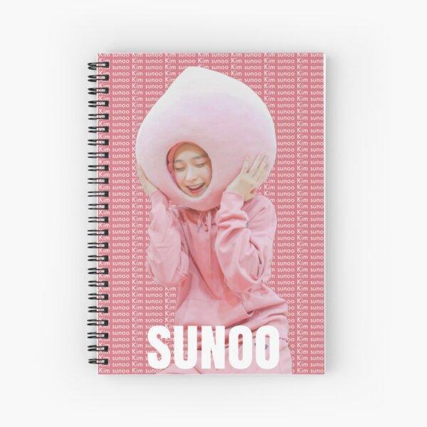 ENHYPEN KIM SUNOO EDITAR Cuaderno de espiral