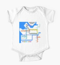 Vancouver Transit Network One Piece - Short Sleeve