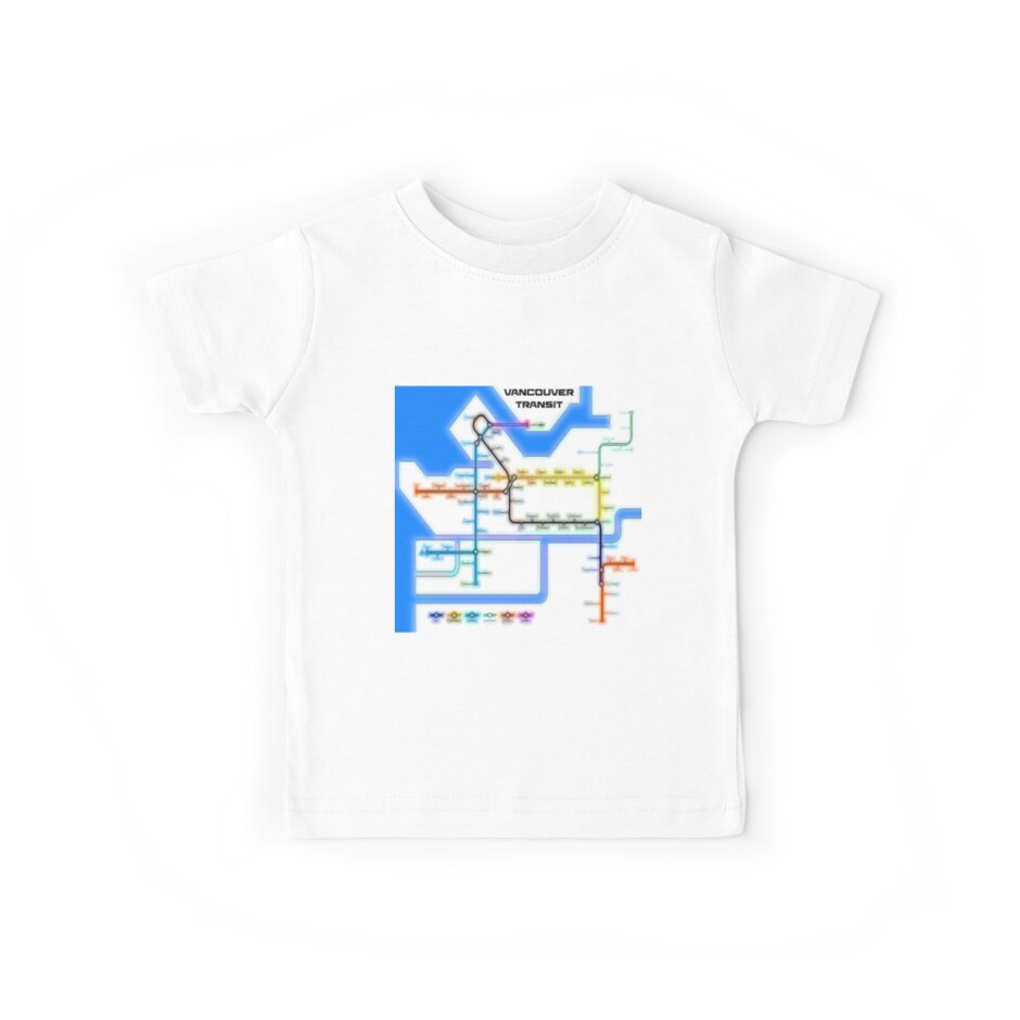 Vancouver Transit Network by mrthink