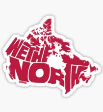 We The North (Red) Sticker