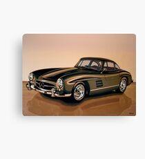 Mercedes Benz 300 SL Painting Canvas Print