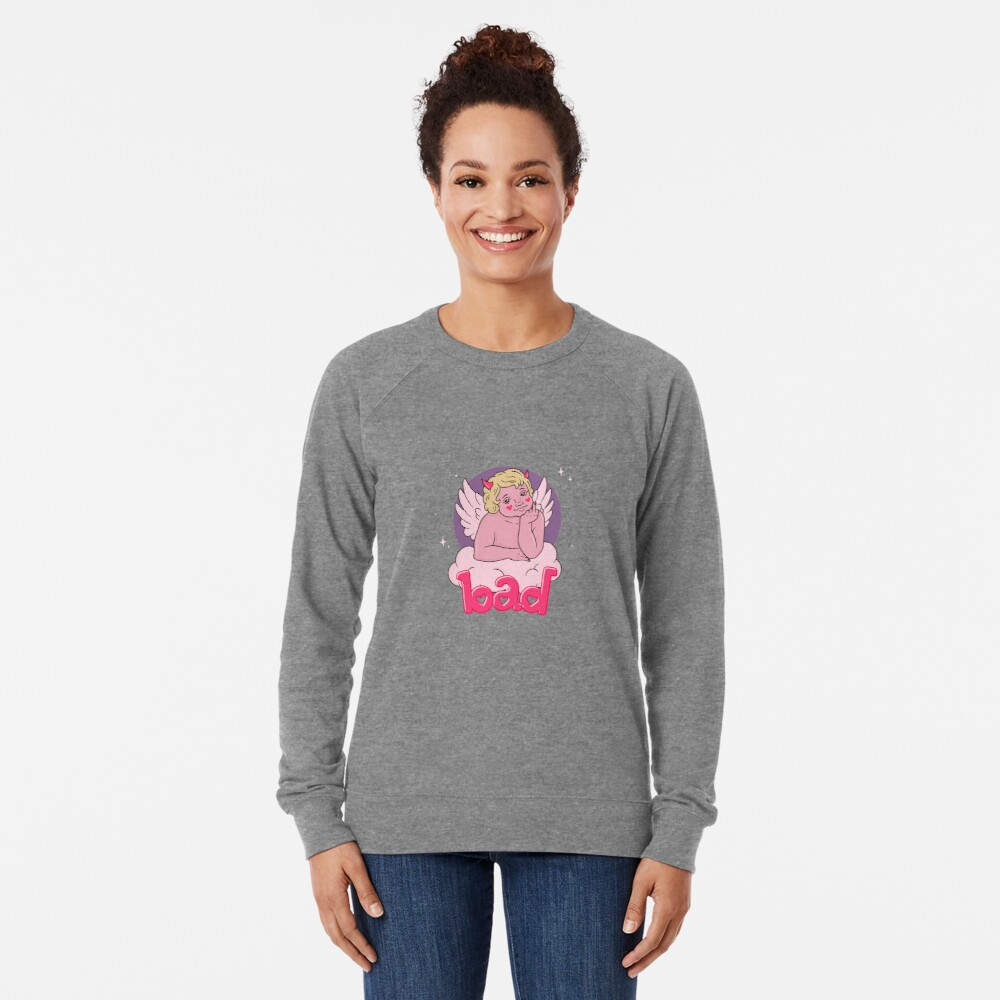 BAD CHERUB - pink Lightweight Sweatshirt