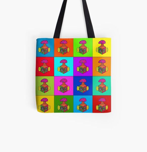 Mind Blocks  All Over Print Tote Bag