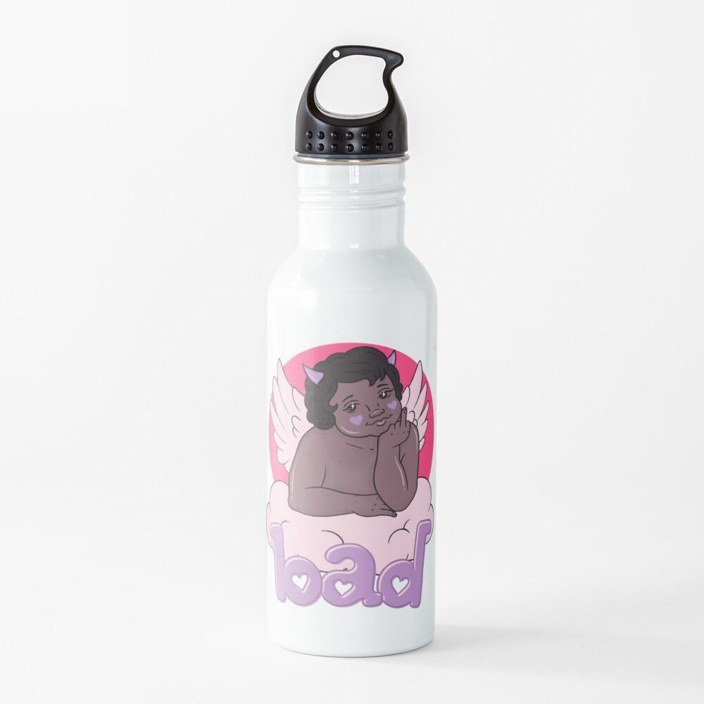 BAD CHERUB - purple Water Bottle