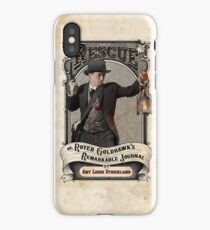 Rescue OR, Royer Goldhawk's Remarkable Journal iPhone Case/Skin