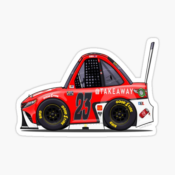 "Bubba's ""Takeaway"" car 2021 Sticker"