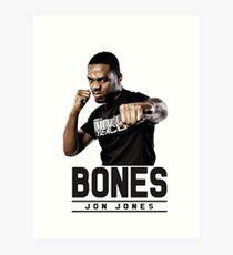 Jonny bones Art Print