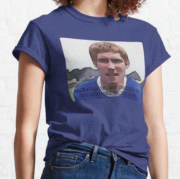 New Everton FC Official Men/'s Terrace Sketch Short Sleeve T-Shirt