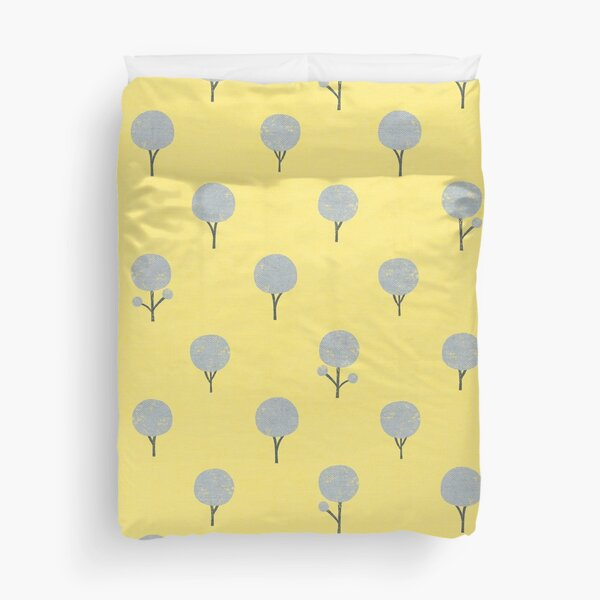 Yellow Forest Duvet Cover