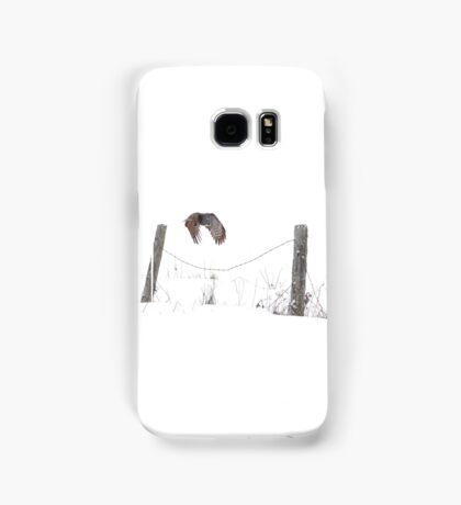 Post to Post - Great grey owl Samsung Galaxy Case/Skin