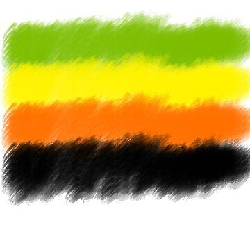 Aro Pride Flag by merlinemrys