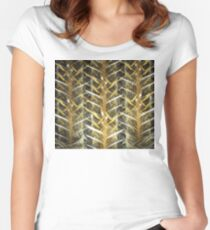 Burlap Women's Fitted Scoop T-Shirt