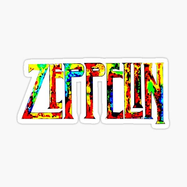 art de Zeppelin Sticker