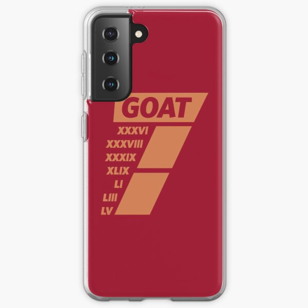Limited Edition GOAT 7 Rings Shirt, 7 Times Super Bowl Champs Shirt, Mug, Hoodie, Sticker, Throw Blanket, Tapestry & Mask! Samsung Galaxy Soft Case