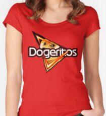 "Doritos ""Dogeritos"" Doge Logo Women's Fitted Scoop T-Shirt"