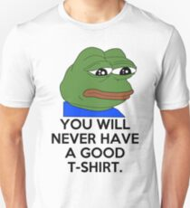 Feels Bad Man Slim Fit T-Shirt