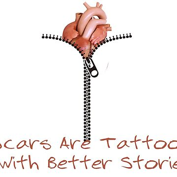 Scars are Tattoos with better stories by ObscureArt