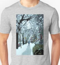Montreal soft winter day Unisex T-Shirt
