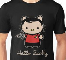 Hello Scotty Unisex T-Shirt