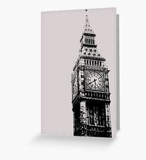 Big Ben - Palace of Westminster, London Greeting Card