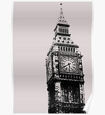 Big Ben - Palace of Westminster, London Poster