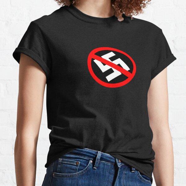 ¡Los punks nazis se jodan! Camiseta clásica