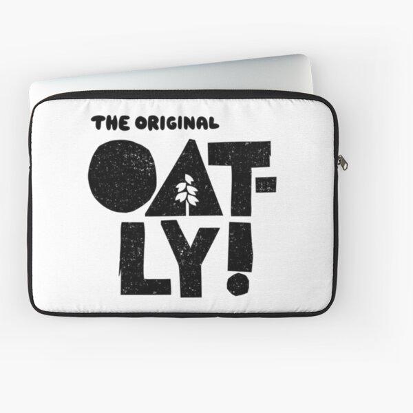 The Original Oatly,  The Oatly Way,  Oatly T-shirt,  Oat Milk Vegan Classic T-shirt Laptop Sleeve