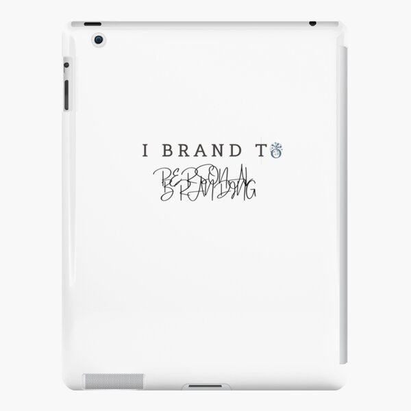 I BRAND TO PERSONAL BRANDING iPad Snap Case