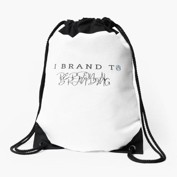 I BRAND TO PERSONAL BRANDING Drawstring Bag