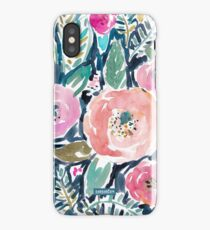 Gardens of Capitola Watercolor Floral iPhone Case