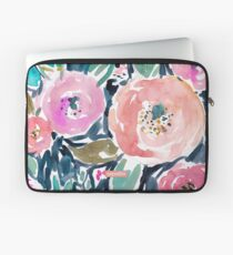 Gardens of Capitola Watercolor Floral Laptop Sleeve