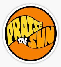 PraiseTheSun Sticker
