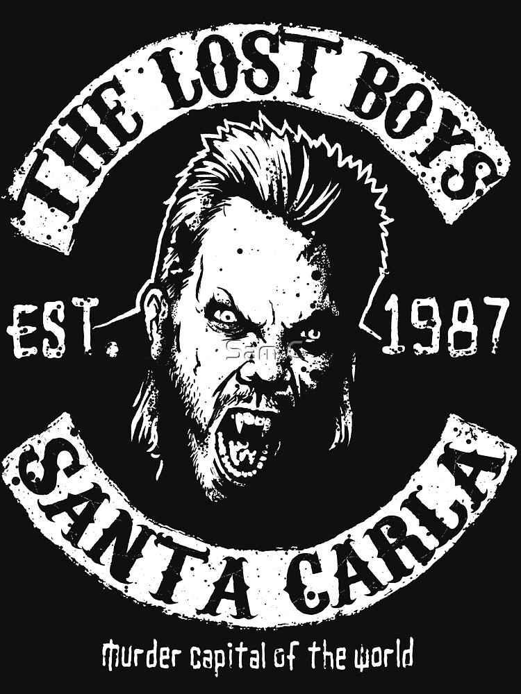 The Lost Boys ets. 1987 Santa Carla T-shirt