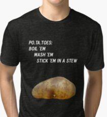 Potatoes Tri-blend T-Shirt