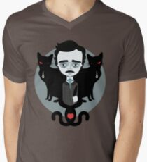 Edgar Allan Poe Men's V-Neck T-Shirt