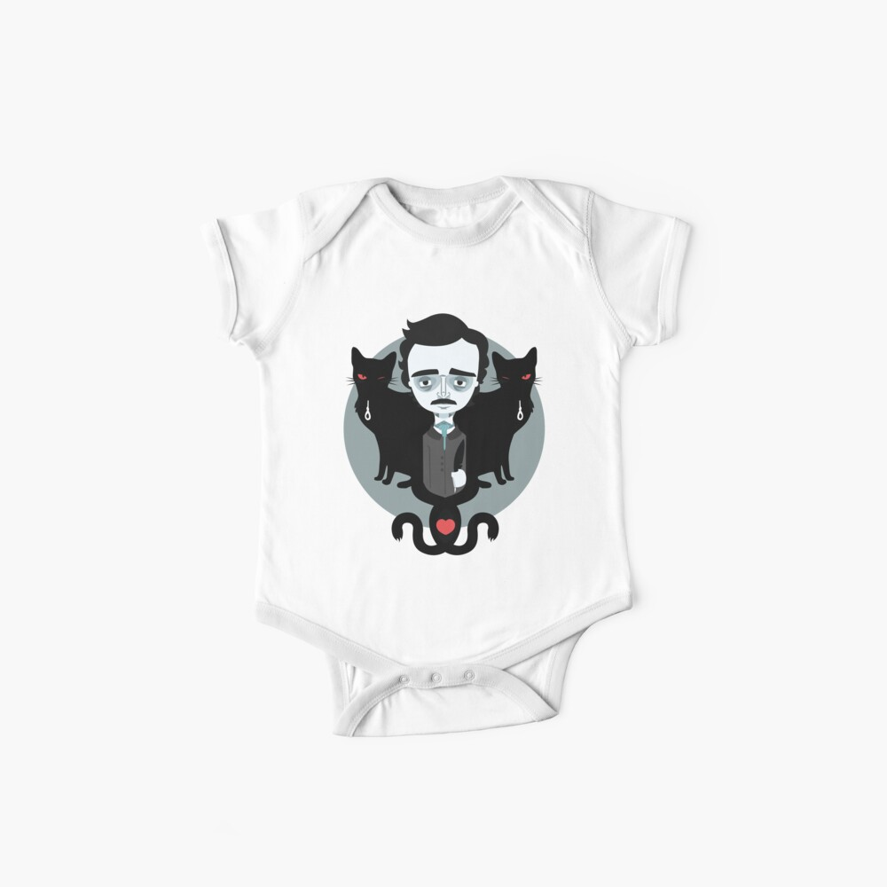 Edgar Allan Poe Bodies para bebé