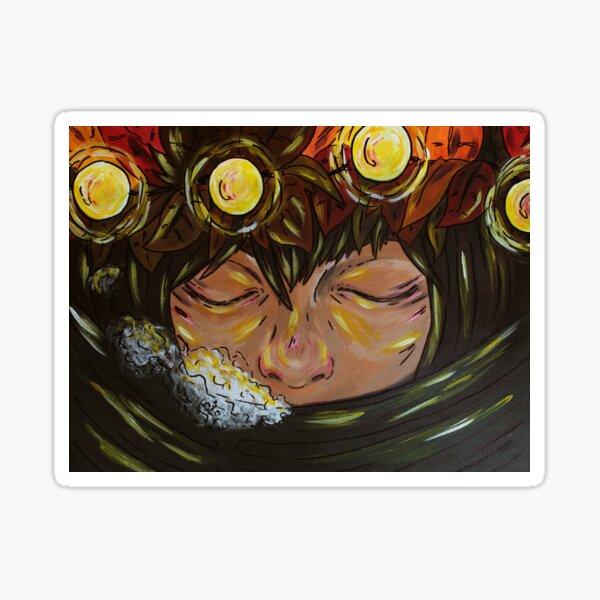 """Illustration - """"autumn spirit"""" Sticker"""