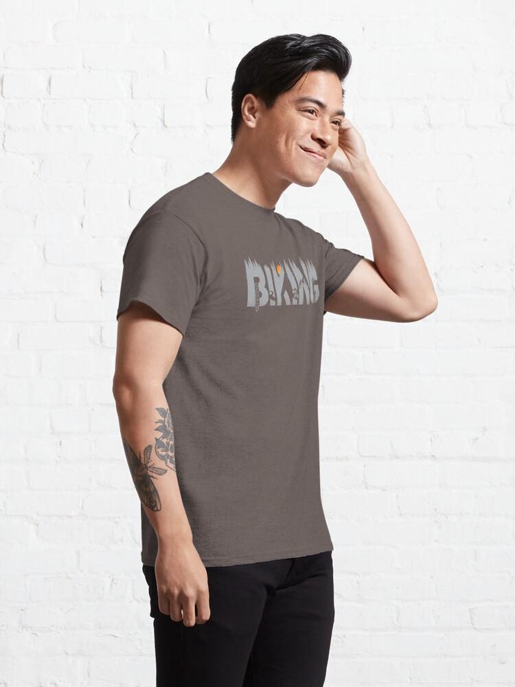 Alternative Ansicht von Biking Classic T-Shirt