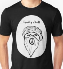 Arabic Peace and Love Unisex T-Shirt