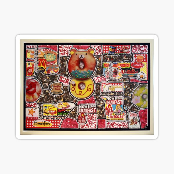 """Breakfast of Confusion - Serie 2021 - Part III - """"Donuts for Childrens"""" Sticker"""