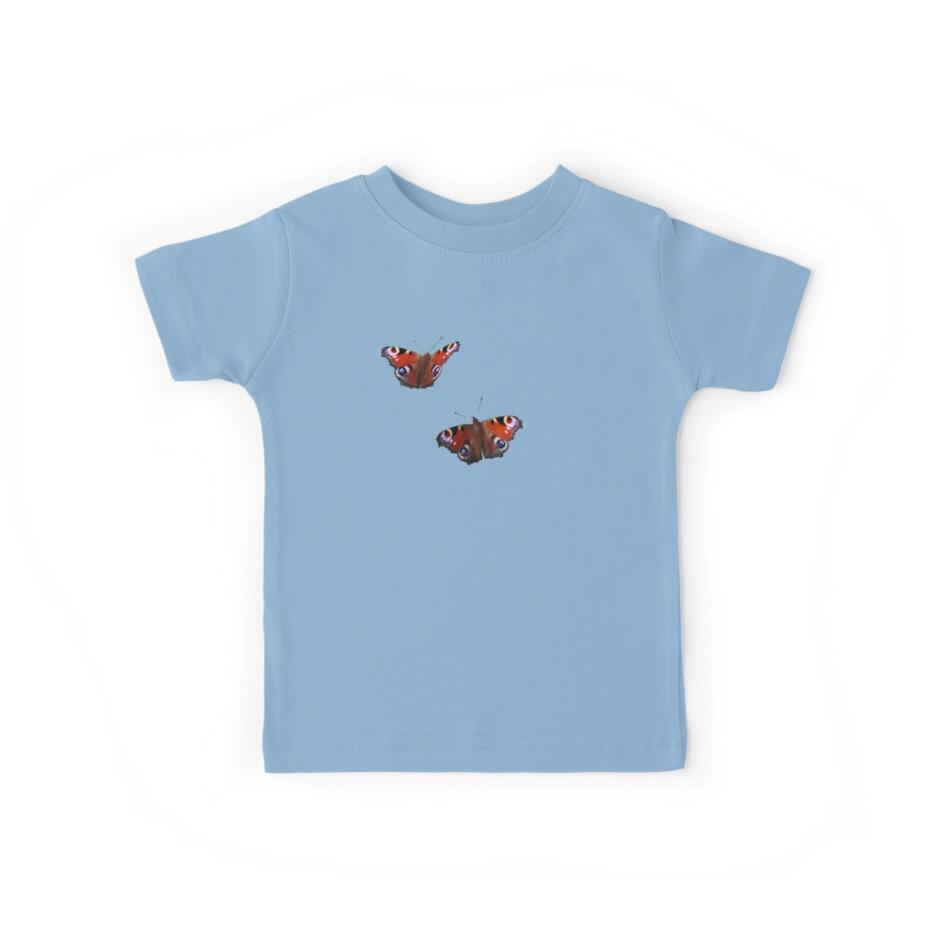 Peacock Butterflies by artsandherbs