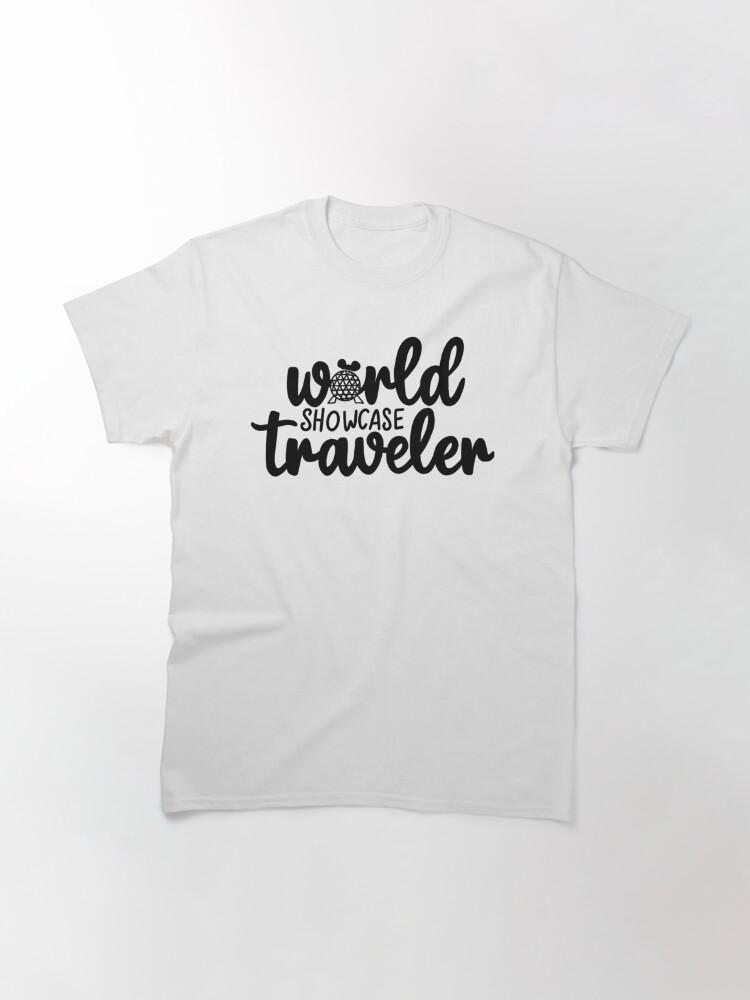 Alternate view of World Showcase Traveler Classic T-Shirt