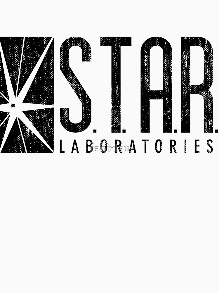 TShirtGifter presents: STAR Labs - Black - Grunge | Unisex T-Shirt